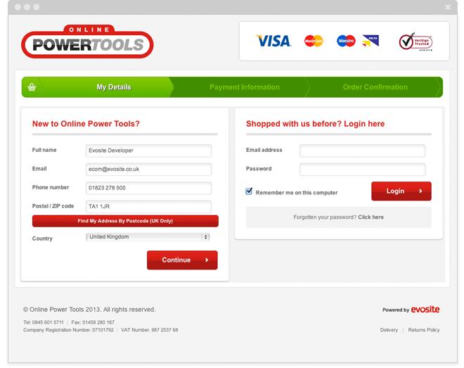 Powertools Online Secure Certificate