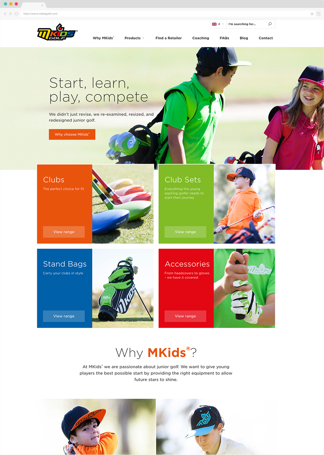 MKids® Golf